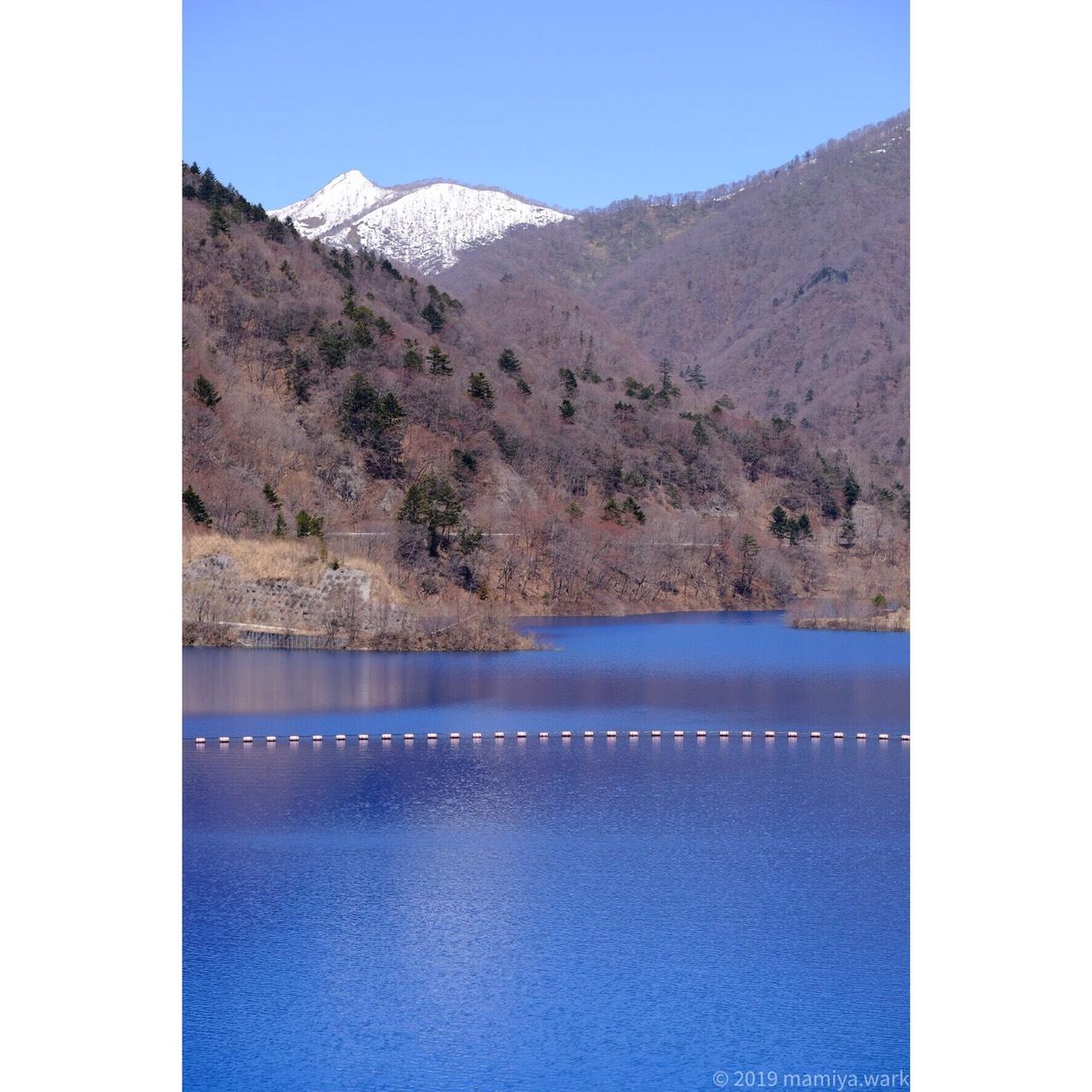 奥に雪山3