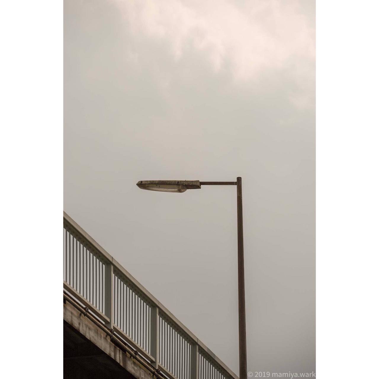 境大橋歩道街灯