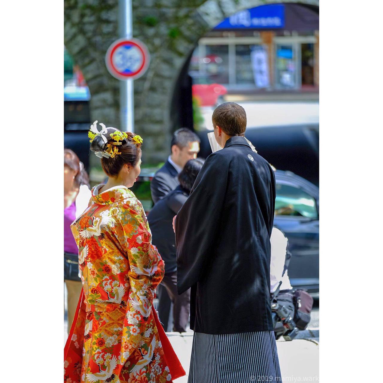 来宮神社で挙式を挙げる